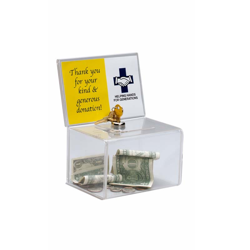 SMALL COIN AND SUGGESTIONS BOX
