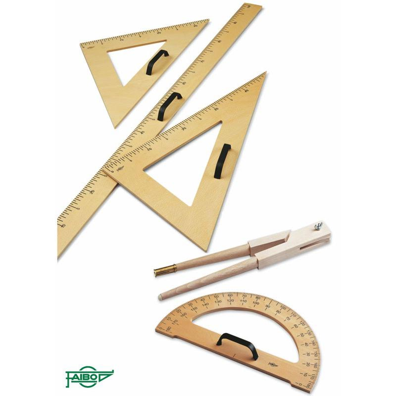 DRAWING SET FOR GREENBOARDS AND WHITEBOARDS