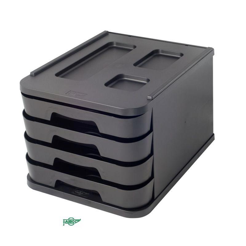 "BOX 4 DRAWERS ""RECYLINE"" SERIES"