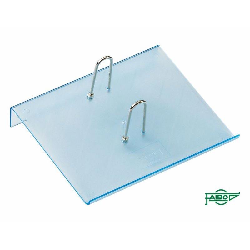 FLUOR BLUE PLASTIC HOLDERS