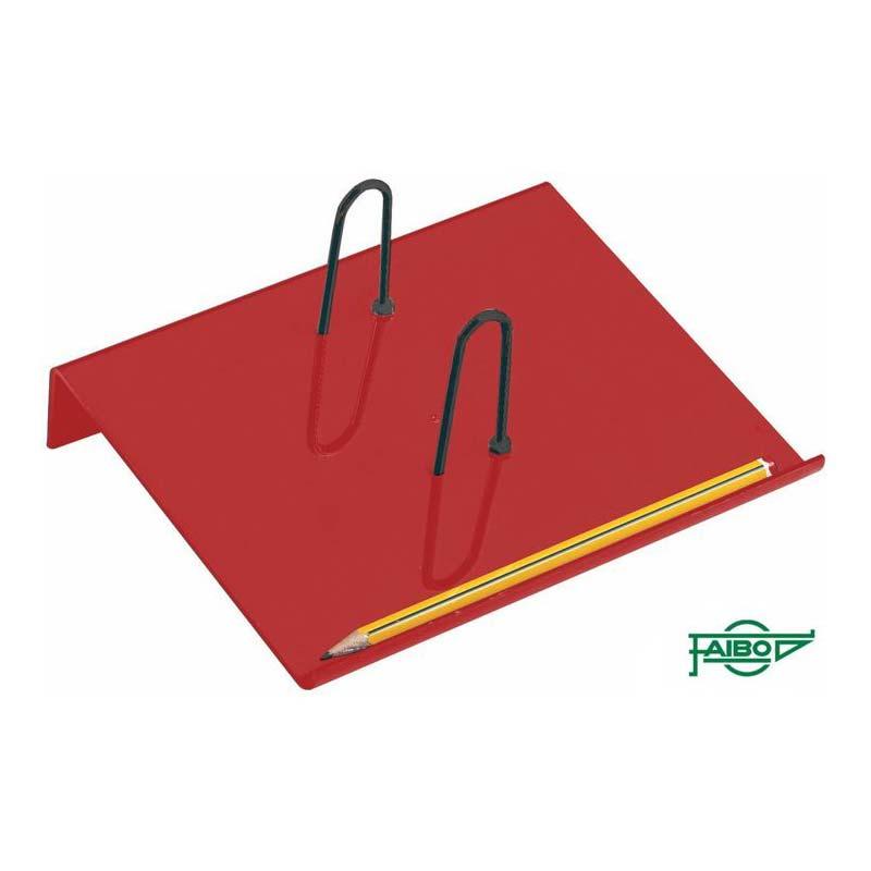 RED PLASTIC HOLDERS